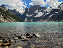 A great day hike Lake of the Hanging Glacier British Columbia