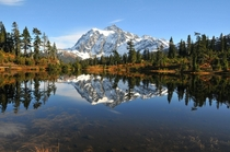 A great photo of Mt Shuksan taken by my Dad