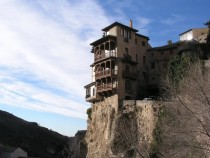 A Hanging House in Cuenca Spain