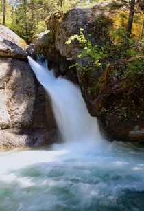 A hidden cascade in Northwest Montanas Swan Range