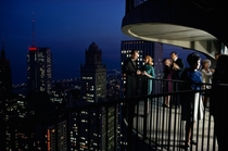 A high-rise party in Chicago