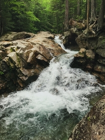 A Hike Through Franconia Notch State Park NH USA