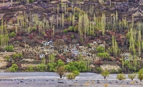A Hillside Village in the Chitral Valley  x-post rExplorePakistan