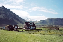 A Homestead in Iceland  Photograph by Ulrich Zinell