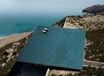 A house with a rooftop infinity pool Tinos Greece by Kois Associated Architects