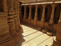 A Jain Temple in Jaisalmer Fort Rajasthan India