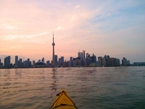 A Kayak and the City - Toronto ON