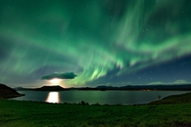 A kp geomagnetic storm Myvtan Iceland