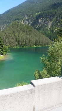 A lake I saw on the drive to Neuschwanstein Castle Bavaria   x