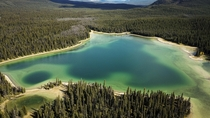 A lake youll almost certainly never go to Muskwa Kechika Wilderness BC Canada