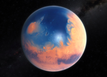 A large ocean might have once existed on Mars