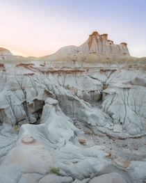 A late summer evening in the badlands Dinosaur Provincial Park Canada  Social mikemarkov