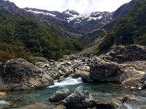 A little creek upstream - Arthurs Pass New Zealand