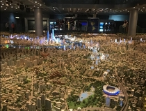 A little different but this is a very large scale model of Shanghai in the Shanghai urban planning museum
