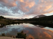 A little glimpse of Rocky Mountain National Park-Sandbeach Lake