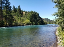 A little prospecting spot on the river Kittitas County WA  x
