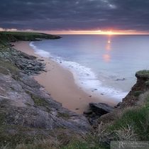 A local shot taken over looking Porthbear beach The Roseland Cornwall England by Raymond Bradshaw
