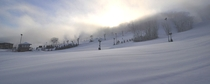 A local ski resort of mine in Lawrenceburg Indiana this morning