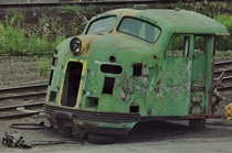 A locomotive thats seen better days Australia x