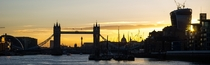 A London sunset from a Thames boat cruise