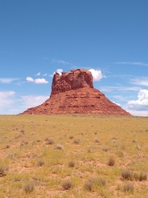 A Lone Mesa in Navajo Nation Arizona
