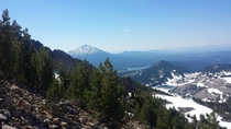 A look back at Mt Bachelor South Sister OR OC