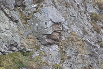 A mimetolith is a naturally occurring rock formation that looks like something else Here is the locally famous Roman soldier in the Highlands of Scotland