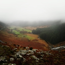 A misty day in the Wicklow Mts Ireland
