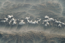 A Misty Morning in the Mountains A glorious winter morning view greeted astronauts as they passed over the rugged peaks of Perus Cordillera Blanca -- Earth photographed on  May  from the International Space Station Photo credit National Aeronautics and Sp