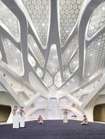 A modern mosque by Zaha Hadid