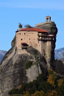 A monastery at Meteora Greece