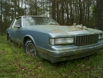 A Monte Carlo thats sat in the same spot for roughly twenty years North Carolina has not been kind to it