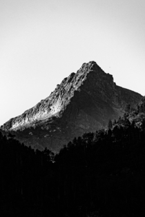 A mountain between contrasts From Lac Saussat France