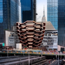 A Multi-Level Pedestrian Vessel Designed by Heatherwick Studio Opens at Hudson Yards