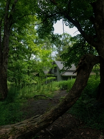 A Mysterious House Lost in Time in the Woods