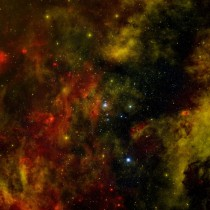 A Nearby Stellar Cradle The star cluster Cygnus OB contains more than  O-type stars and about a thousand B-type stars which are hot massive young stars