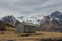 A neglected home in Norways Lofoten isles Grundstad Norway   By Colin Rooke