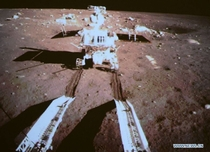 A new desk-sized rover has begun exploring the Moon Launched two weeks ago by the Chinese National Space Administration the Change  spacecraft landed on the Moon yesterday and deployed the robotic rover