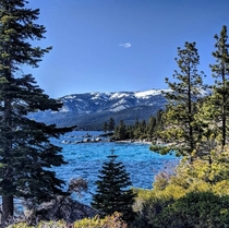 A nice socially-distanced walk along the North Shore of Lake Tahoe