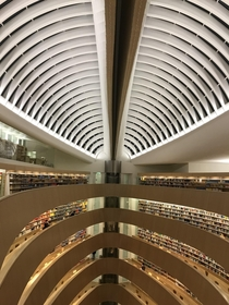 A nice university library in Zurich