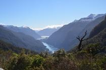 A nice view in Doubtful Sound New Zealand