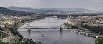A panorama of Budapest  by Hrannar Hauksson