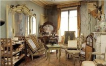 A Parisian apartment left untouched for over  years