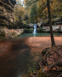 A peaceful place in the Hocking Hills Ohio