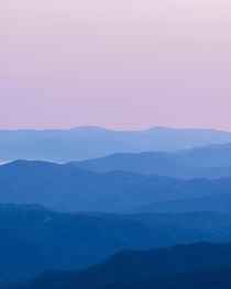 A perfect gradient in the Appalachian Mountains  IG switchbackimages