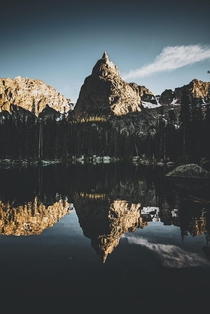 A perfect reflection of my favorite peak in Colorado From the Indian Peaks Wilderness  by danielbenjaminphoto