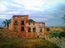A photo from Belchite Aragn a town destroyed by fascists during the Spanish civil war  by Ian Paul