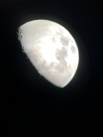 A photo where I stuck my phone in the eyepiece