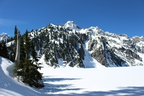 A picture from my hike to Snow Lake Washington back in April