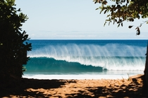 A Picture I took from the Billabong Pipe Masters in Oahu HI  IGgbonesss